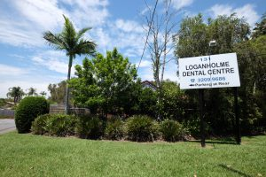 Plenty of parking on-site at the rear of Loganholme Dental Centre on Bryants Road.
